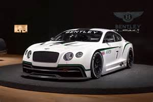 Bentley Nationality Bentley Continental Gt3 At The Los Angeles Auto Show