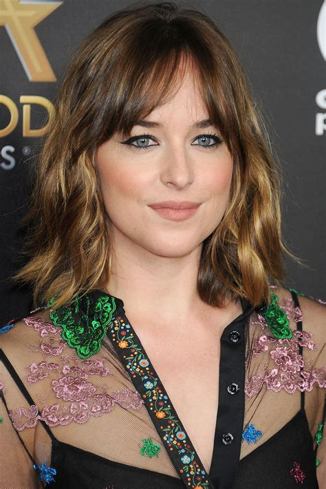 how to cut bangs like dakota johnson 10 best haircuts for fall and winter fall and winter