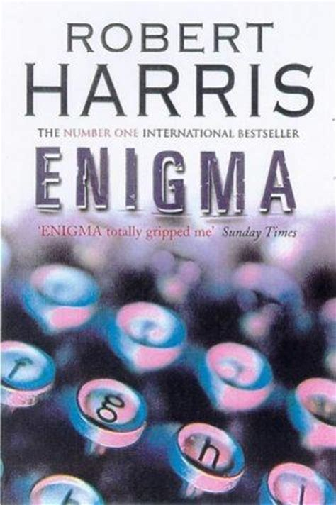enigma film book enigma by robert harris