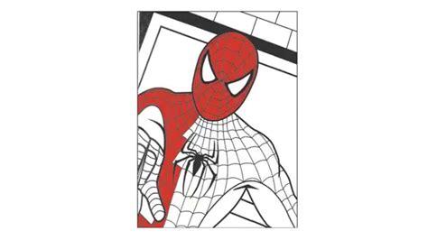 dibujos para pintar hombre araña como dibujar y pintar a spiderman youtube
