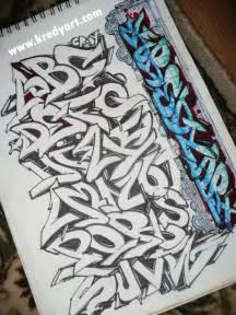 Graffiti alphabet and letters by kredy on deviantart