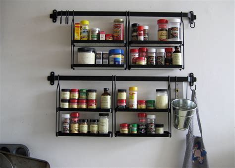Kitchen Seasoning Rack Unique Spice Racks Lots Of Clever Ways To Store Spices