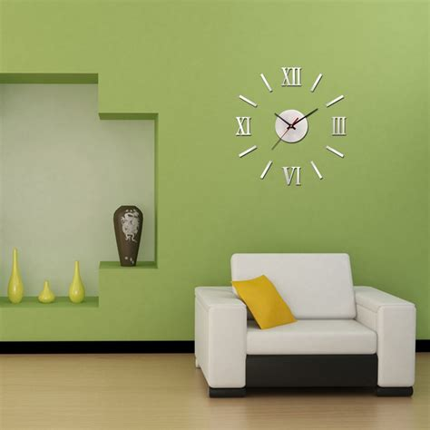 home design wall decor diy large wall clock designs