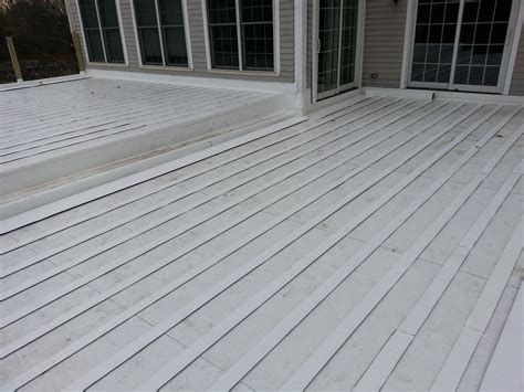 pvc roof installation  floating wooden deck