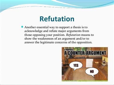 Refutation Essay Topics by Refutation Essay Topics Exle Exles Exles Writing Faculty The
