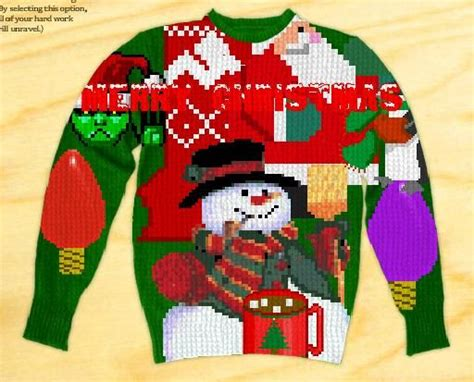 Oh this is awesome tacky ugly christmas sweaters rock pinterest