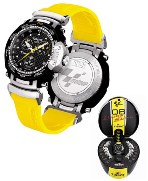 Tissot Moto Gp Orange tissot t race motogp limited edition in sporty lookwatch