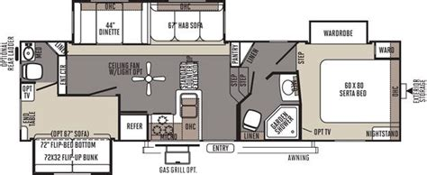 rockwood fifth wheel floor plans rockwood signature ultra lite fifth wheel by forest river