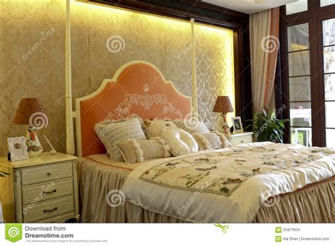 family bedroom colour lively family bedroom decorate stock photo image