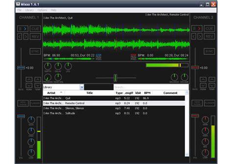console dj gratis mixxx