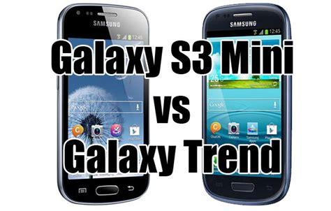 doodle 3 vs galaxy trend samsung galaxy s3 mini vs galaxy trend lequel est le