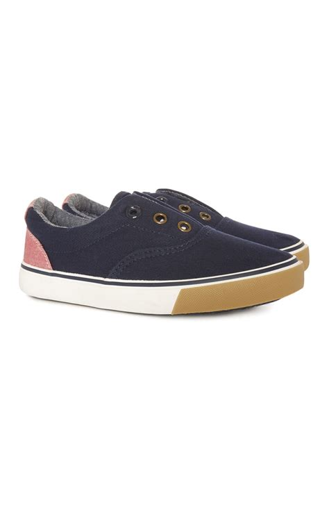an innovative navy canvas slip on for you all from