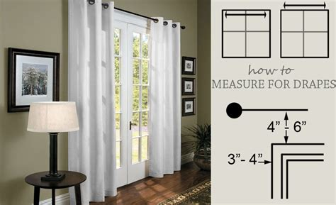 how to shop for curtains how to measure for drapes measure for curtains