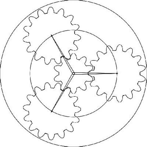 printable gear templates best photos of template of gears free wood gear template
