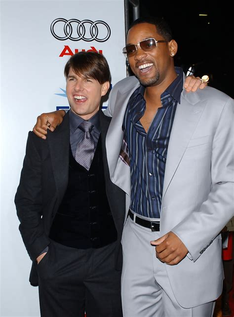 Will Smith Turned Tom Cruises Invite To Be A Scientologist by Will Smith And Tom Cruise Photos Photos Afi 2007