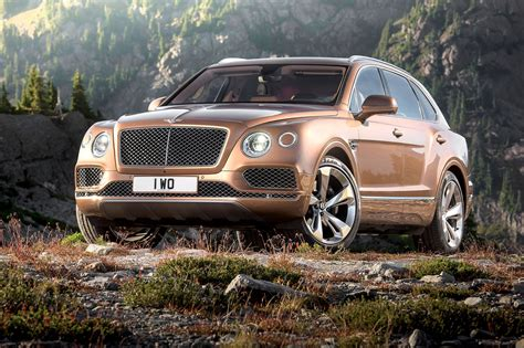 bentley bentayga  spawn   seater mph suv  car magazine