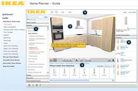 online kitchen design planner how to use online kitchen planner in a couple minute