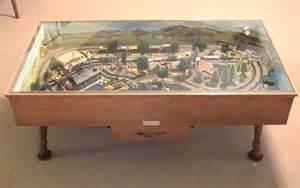 Coffee Table Model Railroad Ryobi Nation