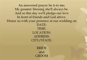 Wedding Invitation Wording Casual Simple Wedding Invitation Wording Theruntime Com