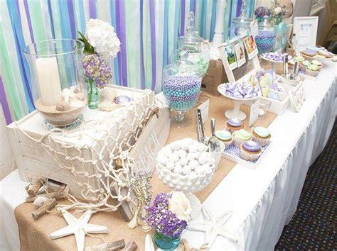 beach themed bridal shower centerpiece ideas best house beach themed engagement party planning ideas decor