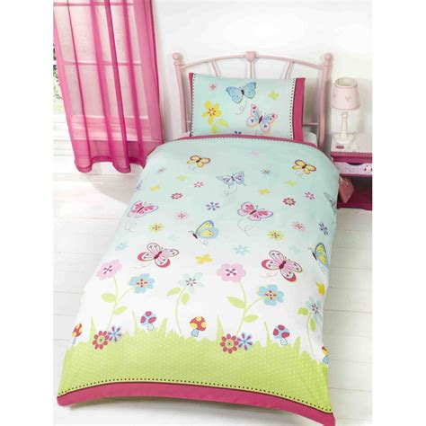 childrens butterfly bedding and curtains childrens bed linen toddler duvet set baby bed linen