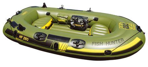 opblaasboot elektromotor sevylor fish hunter 280 3 persons inflatable fishing