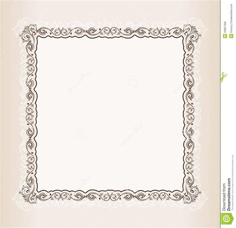 vintage square frame vintage square frame vector www pixshark images galleries with a bite