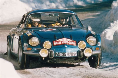 renault alpine a110 rally renault classic team engage 5 alpine a110 au rallye monte