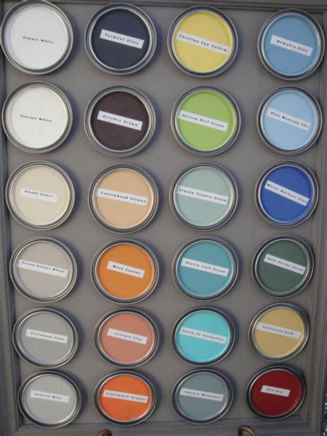 Solomon Repurposes Paint Chips by 21 Colors In The Cece Caldwell S Line All Green No Voc S