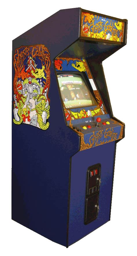 review ghosts n goblins capcom 1985 retrollection net