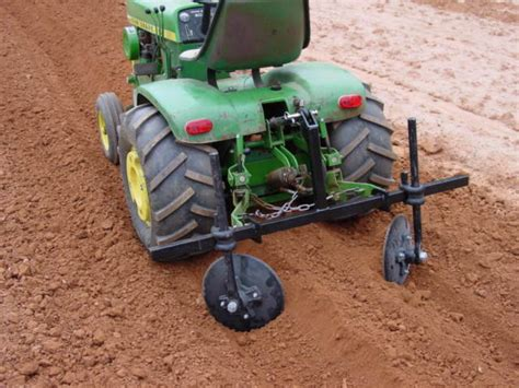 garden hiller implements and attachments