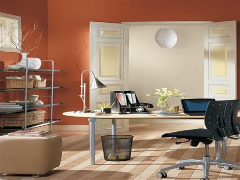 office wall color ideas orange home office orange office cubicles orange office