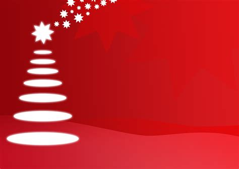 abstract christmas tree  red background high resolution picture