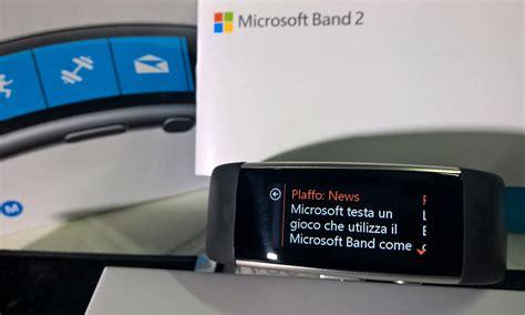 Microsoft Band 2 Di Indonesia microsoft band 2 in offerta a 139 163 su uk spedizione anche in italia