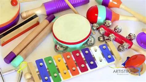 imagenes instrumentos musicales para niños kit de instrumentos musicales para ni 209 os youtube