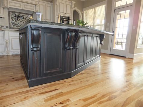 corbels for kitchen island kitchen island painted black corbels counter top