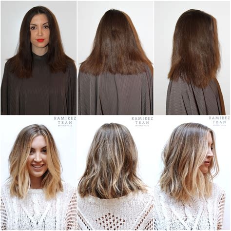 dorty blonde hair transformation from brown hair absolutely love this cut and color ashy light brown with