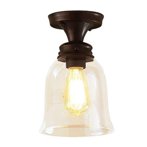 allen roth rubbed bronze one retro light edison