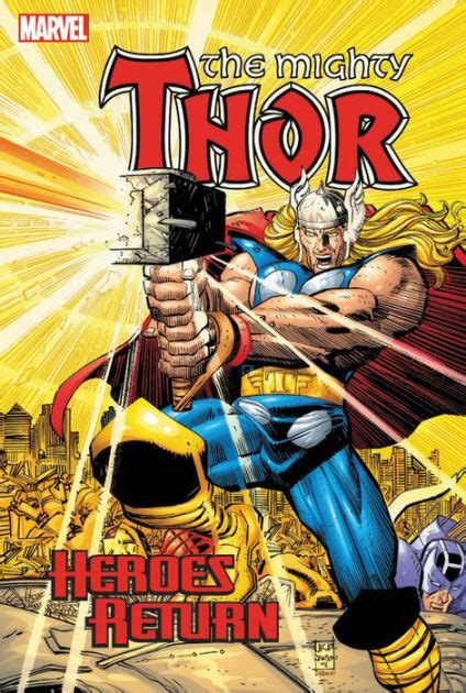 libro hero homecoming hardcover thor heroes return omnibus by dan jurgens john romita john buscema mike mckone hardcover