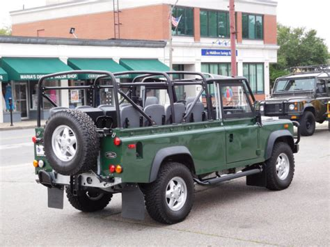 land rover defender 110 convertible 1994 land rover defender 110 convertible for sale photos