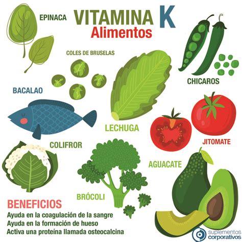 vitamina k en que alimentos se encuentra en que alimentos se encuentran la vitamina b hogar y