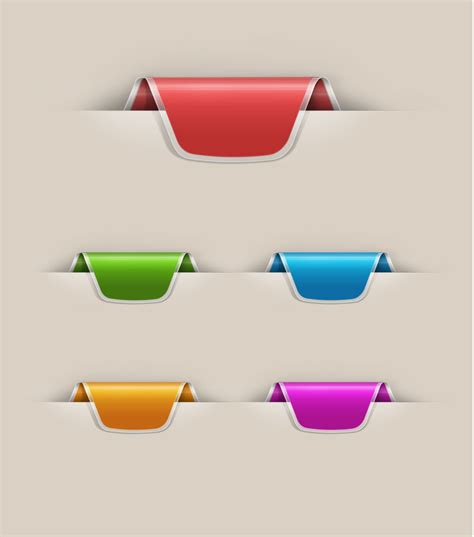 ribbon templates for photoshop 13 free psd ribbons images free ribbon psd templates