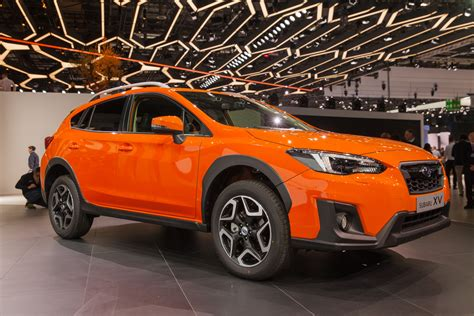 subaru orange crosstrek 2018 subaru crosstrek preview