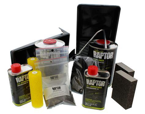 raptor bed liner kit u pol 5010 raptor black roll on bedliner kit ebay