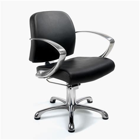 salon chairs uk rem evolution hydraulic styling chair in black direct