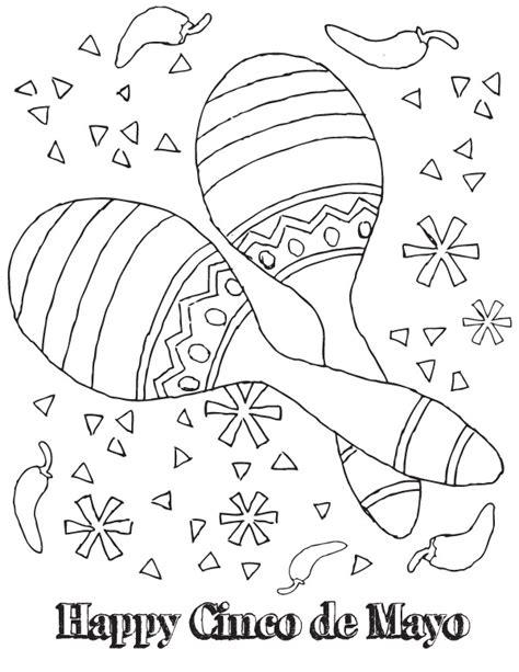 printable coloring pages for cinco de mayo 11 coloring pictures cinco de mayo print color craft