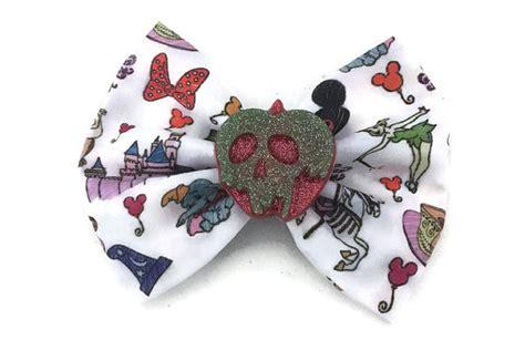 doodle hair bow disney doodles fabric inspired hair bow disneyland