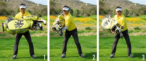 golf swing weight transfer swing from the ground up golf tips magazine