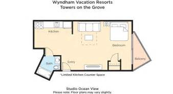 towers on the grove floor plan tripbound wyndham vacation resorts towers on the