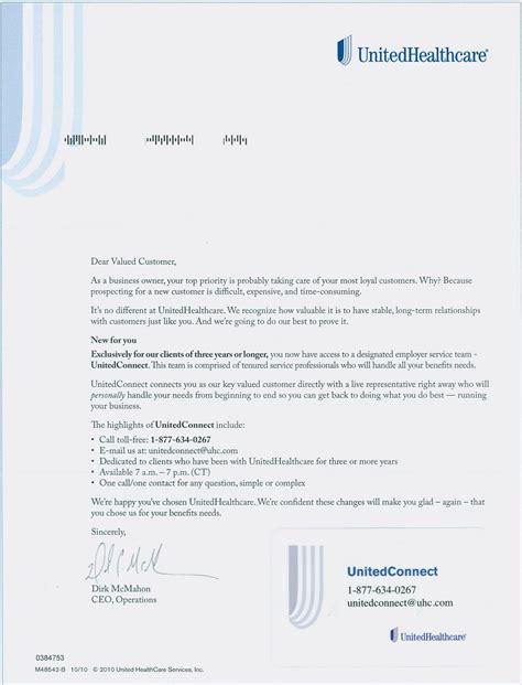 Appeal Letter Unitedhealthcare Insureblog 04 01 2011 05 01 2011